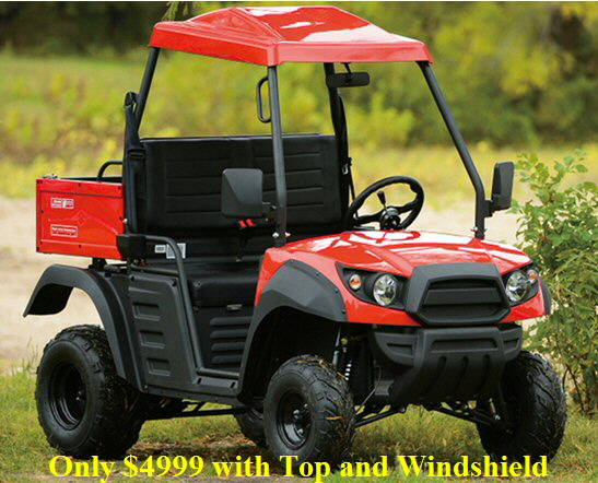 rancher r150 red